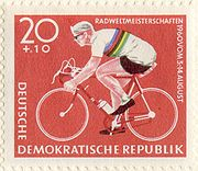 Olympics Photos - Gustav-Adolf Schur - East German postage stamp depicting Schur