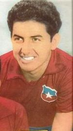 Soccer Photos - Chile National Football Team - Joint top scorer of the 1962 FIFA World Cup