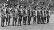 Soccer Photos - East Germany National Football Team