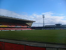 Soccer Photos - Northern Ireland National Football Team - Windsor Park - a view from the Kop Stand