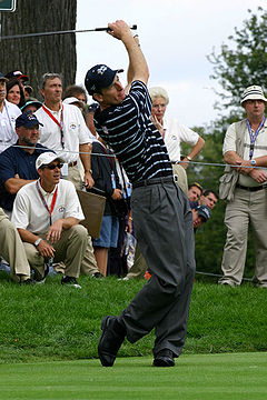 Golf Photos - Jim Furyk - Furyk at the 2004 Ryder Cup