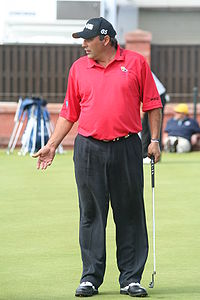 Golf Photos - Angel Cabrera