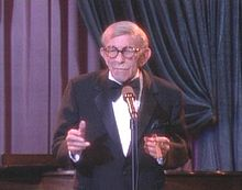Golf Photos - George Burns - George Burns on <i>The Golden Palace</i>