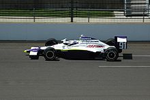 Motorsports Photos - Buddy Lazier - Lazier practicing for the 2008 Indianapolis 500