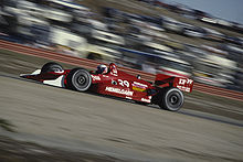 Motorsports Photos - Buddy Lazier - Buddy Lazier driving at Laguna Seca in 1991