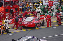 Motorsports Photos - Tony Stewart - Tony Stewart pits his #14 Impala at the 2009 Coca-Cola 600 Charlotte