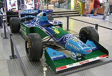 Motorsports Photos - Michael Schumacher - Schumacher drove the Benetton B194 to his first World Championship in 1994.