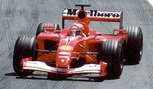 Motorsports Photos - Michael Schumacher - Schumacher won his fourth world title in 2001