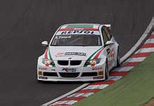 Motorsports Photos - Alex Zanardi - Zanardi driving a BMW 320si WTCC car at Brands Hatch in 2008.