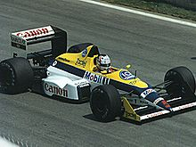 Motorsports Photos - Nigel Mansell - Mansell driving for Williams at the 1988 Canadian Grand Prix.