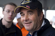 Motorsports Photos - Nigel Mansell - Mansell at the 2007 British Grand Prix. After retiring from Formula One