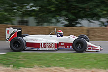 Motorsports Photos - Eddie Cheever - Cheever driving his 1988 Arrows A10B at the 2008 Goodwood Festival of Speed.