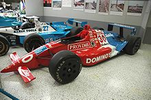 Motorsports Photos - Arie Luyendyk - Luyendyk's Lola-Chevrolet which won the 1990 Indianapolis 500 for Doug Shierson Racing.