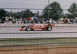 Motorsports Photos - Bobby Rahal - Rahal during the 1986 Indy 500