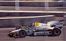 Motorsports Photos - Keke Rosberg - Rosberg won the 1984 Dallas Grand Prix in a Williams FW09.