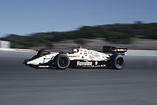 Motorsports Photos - Mario Andretti - Andretti driving at Laguna Seca in 1991.