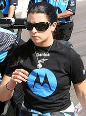 Motorsports Photos - Danica Patrick - Patrick on Pole Day at Indy