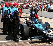 Motorsports Photos - Danica Patrick - Danica Patrick after qualifying for the 2007 Indianapolis 500