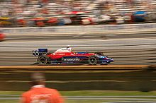 Motorsports Photos - Kosuke Matsuura - Matsuura driving in the 2005 Indianapolis 500