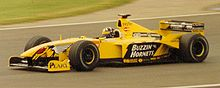 Motorsports Photos - Damon Hill - Hill driving for Jordan at the 1999 British Grand Prix.