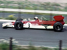 Motorsports Photos - Mario Andretti - Andretti drove his Lotus Type 63 at the 1969 German Grand Prix.
