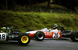 "Motorsports Photos - James Hunt - James Hunt driving a Brabham BT21 in the <a href=""/w/index.php"