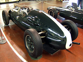 Motorsports Photos - Jack Brabham - A rear-engined T51 of the type Brabham used to win his first world championship.
