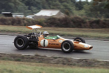 Motorsports Photos - Denny Hulme - 1968 USGP at Watkins Glen.<br />