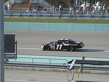 Motorsports Photos - Denny Hamlin - Denny Hamlin practicing for the 2007 Ford 400 at the Homestead-Miami Speedway.