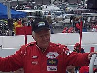 Motorsports Photos - James Hylton - Hylton awaits driver introductions before his final ARCA race