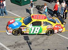 Motorsports Photos - Kyle Busch - 2008 NASCAR Sprint Cup Series Car
