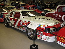 Motorsports Photos - Alan Kulwicki - Kulwicki's 1988 car