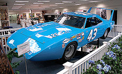 Motorsports Photos - Richard Petty - Petty's famous Plymouth Superbird