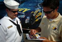 Motorsports Photos - David Stremme - David Stremme (right)