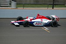 Motorsports Photos - Al Unser, Jr. - Practicing for the 2007 Indianapolis 500