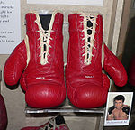 Boxing Photos - Muhammad Ali - Muhammad Ali's boxing gloves are preserved in the Smithsonian Institution National Museum of American History
