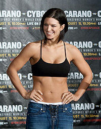 Boxing Photos - Gina Carano - Gina Carano in 2009.