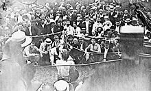 Boxing Photos - John L. Sullivan - Sullivan-Kilrain fight