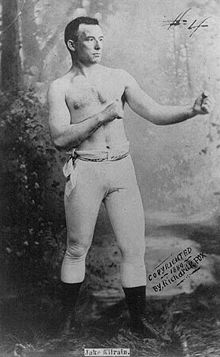 Boxing Photos - John L. Sullivan - Jake Kilrain 1899