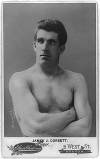Boxing Photos - James J. Corbett