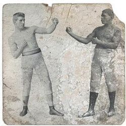 Boxing Photos - James J. Corbett - 1891 Corbett vs Jackson