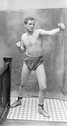 Boxing Photos - Marvin Hart - Marvin Hart in 1902