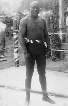 Boxing Photos - Jack Johnson -