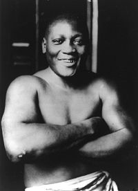 Boxing Photos - Jack Johnson