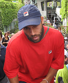 Tennis Photos - James Blake - Blake at the 2009 French Open.
