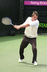Tennis Photos - Jimmy Connors