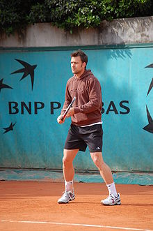 Tennis Photos - Nicolas Kiefer - Kiefer at the 2009 French Open.
