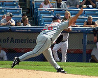 Baseball Photos - Bob Wickman - Wickman as a closer of the Cleveland Indians in 2006.