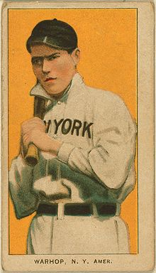 Baseball Photos - Jack Warhop - Jack Warhop baseball card