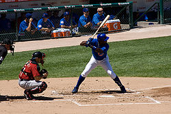 Baseball Photos - Alfonso Soriano - Soriano at bat with the Cubs in 2009.